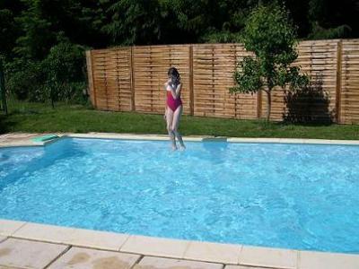 Cantal gite 4 avec piscine et tang de p che priv le - Chambres d hotes aveyron avec piscine ...
